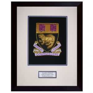 LSE: Hand Embroidered Commemorative Plaque